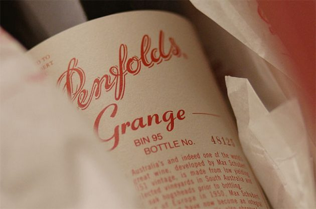 Penfolds Grange 1951 sold for over $50,000