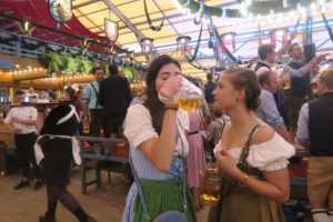 Munich celebrates Oktoberfest: Even the Terminator was there