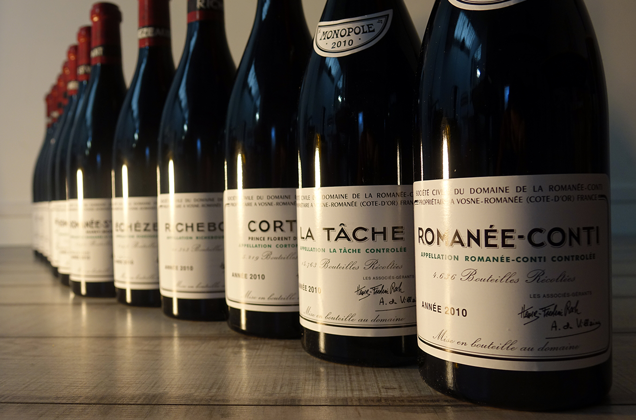 Burgundy dominates most expensive iDealwine auctions 2018