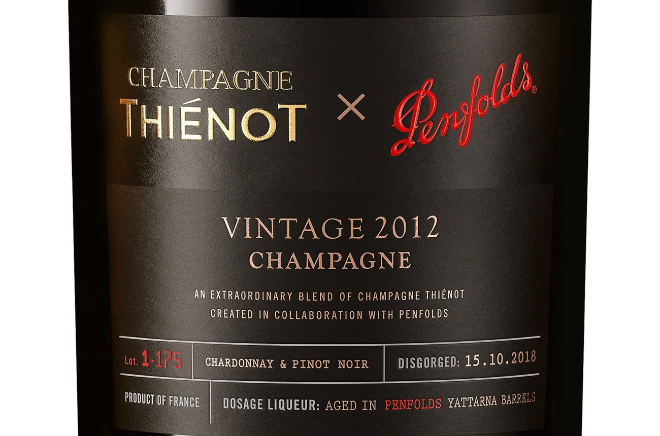First taste: Thiénot X Penfolds Champagne collaboration