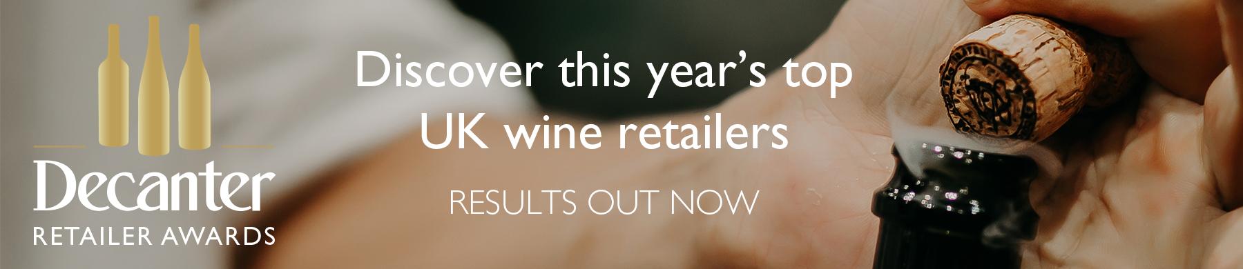 Decanter Retailer Awards 2019 winners announced