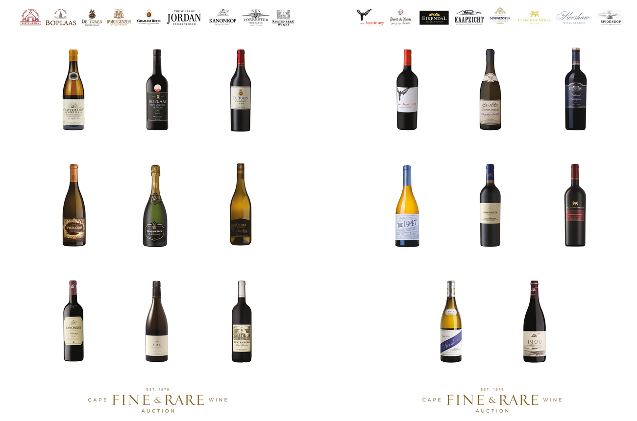 Christie's auctions South African wine 'superlots'