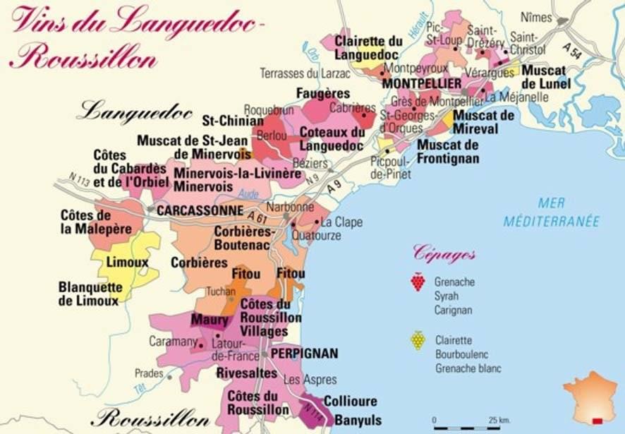 The French Vineyards of Occitanie