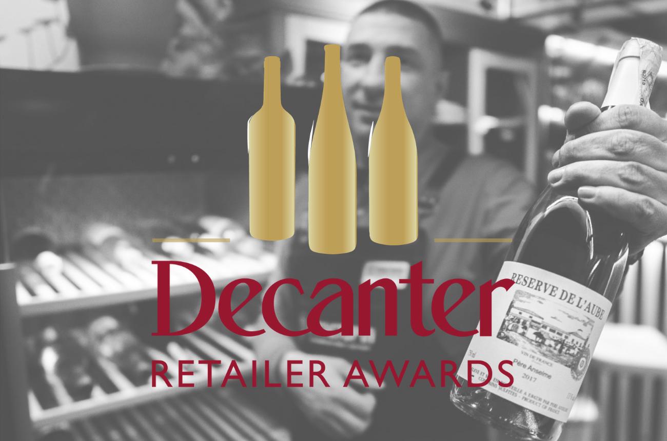 Decanter Retailer Awards 2021 open for entries