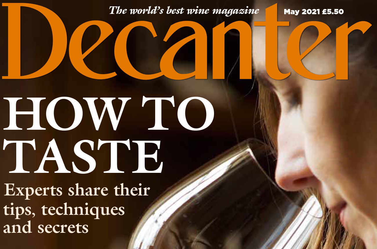 Decanter magazine latest issue: May 2021