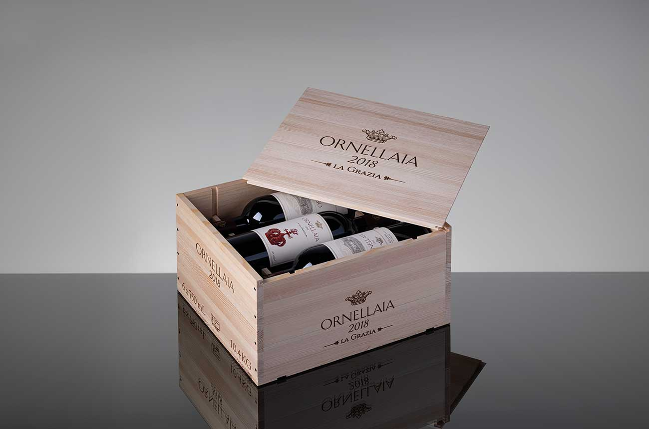 Ornellaia 2018 released for the first time