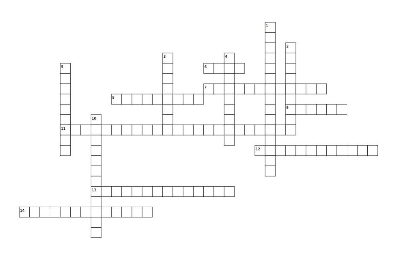 The Decanter crossword