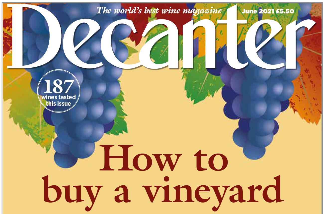 Decanter magazine latest issue: June 2021