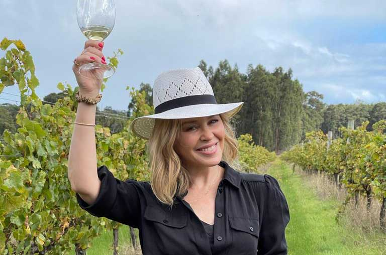 Kylie wines: Andrew Jefford meets the star and tastes the range