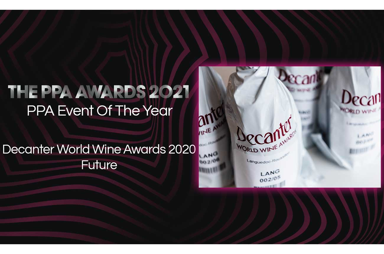 Decanter World Wine Awards wins Event of the Year