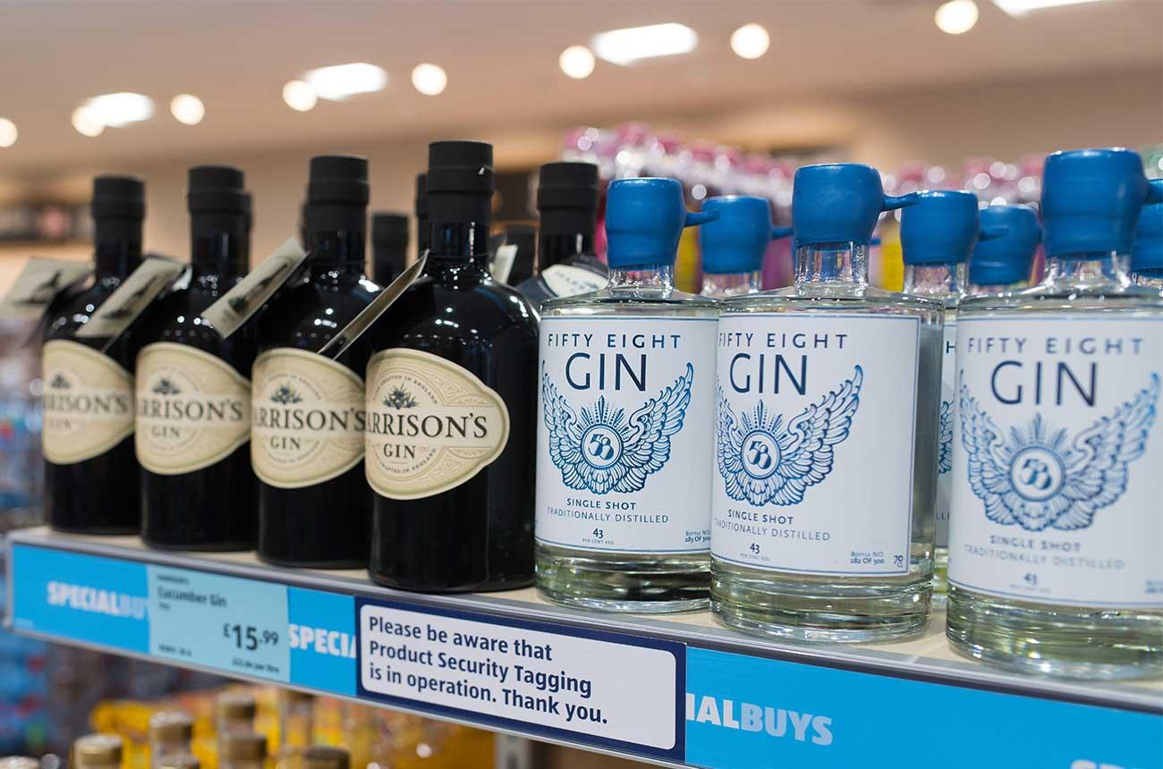 UK gin sales hit record 80 million bottles