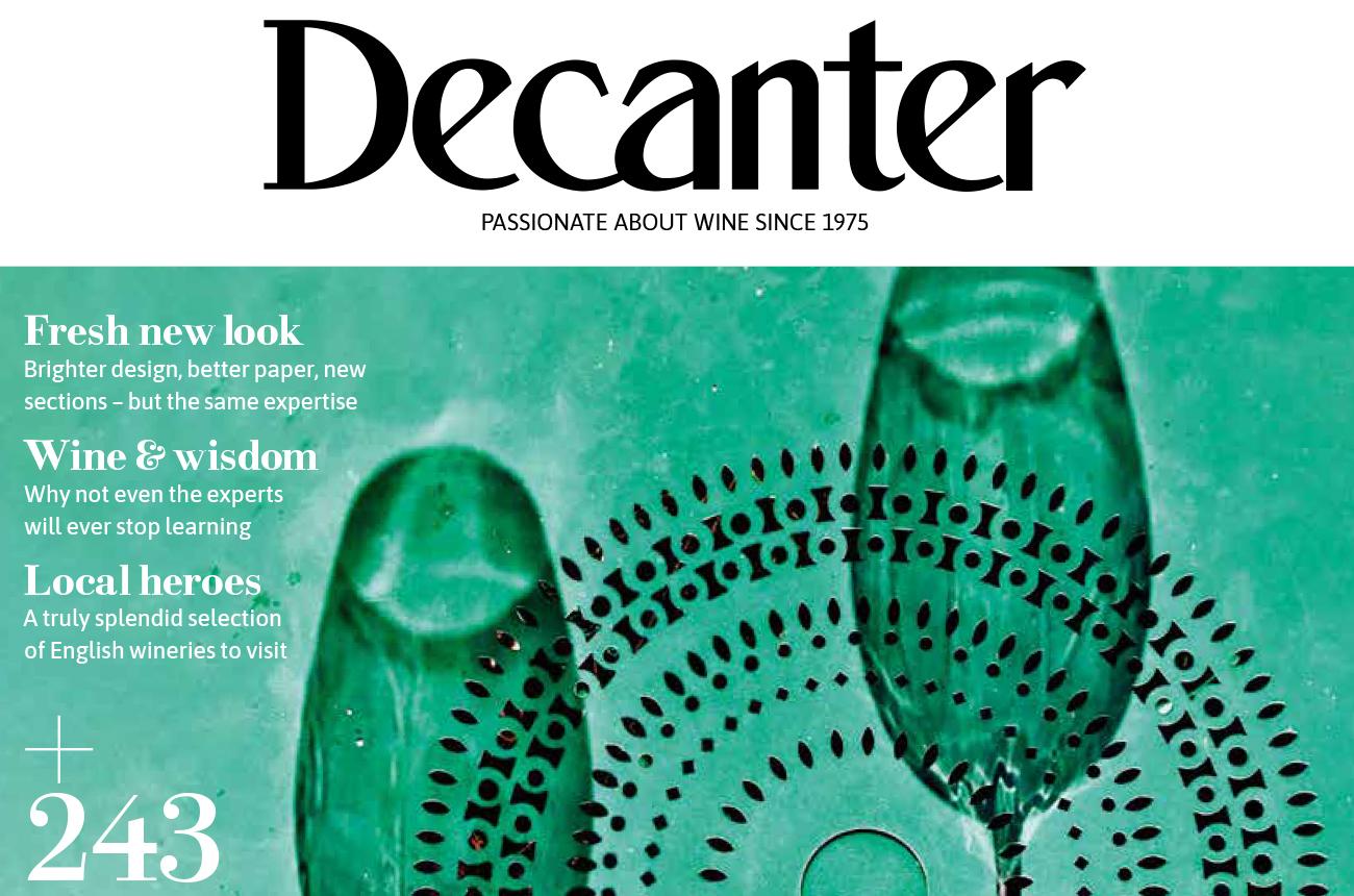 Decanter magazine latest issue: July 2021