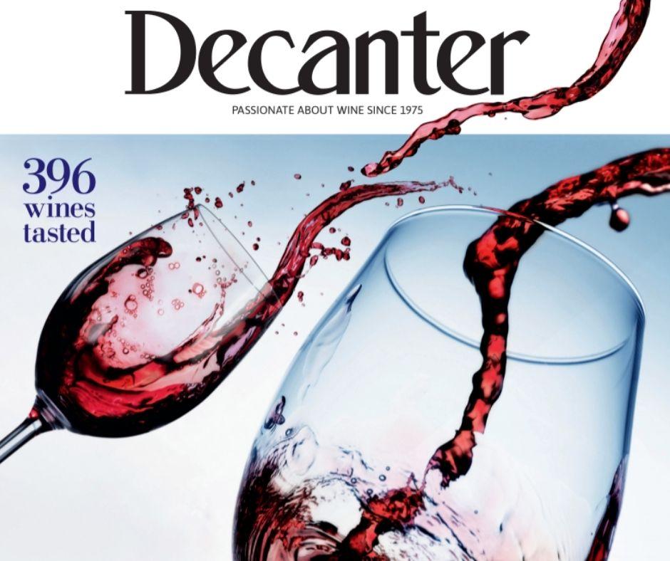 Decanter magazine latest issue: August 2021