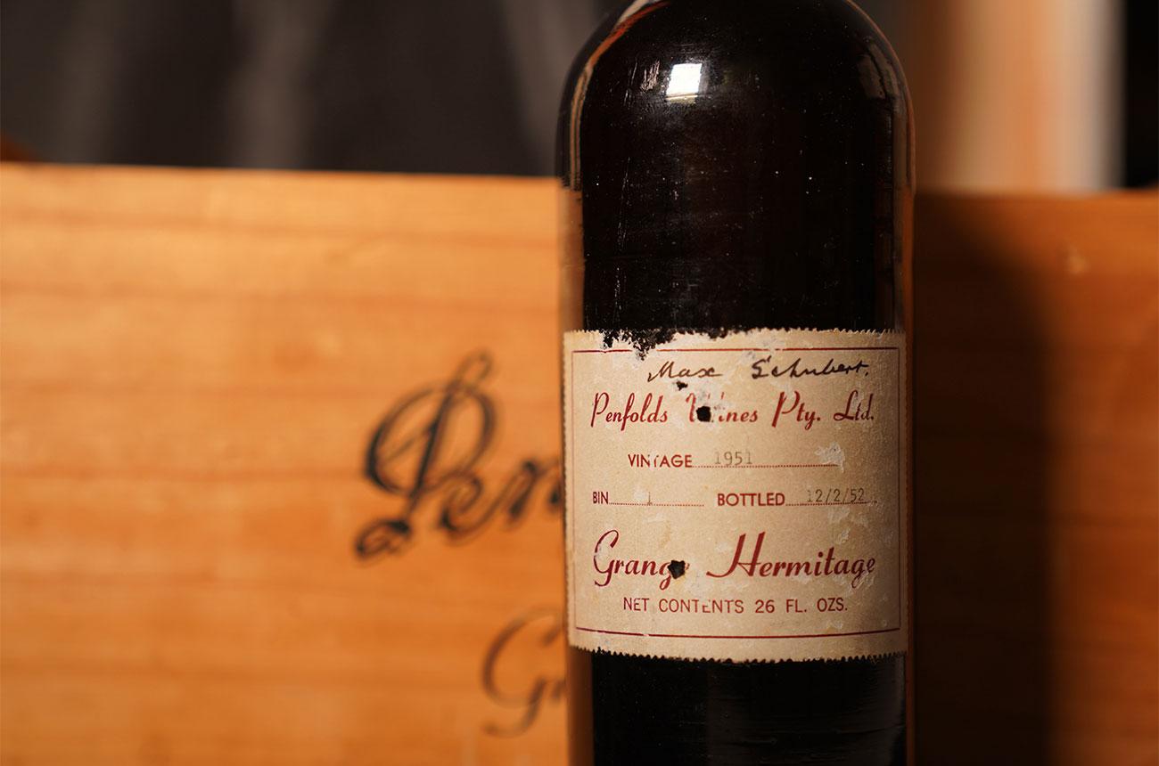 Penfolds Grange 1951 sets new auction record
