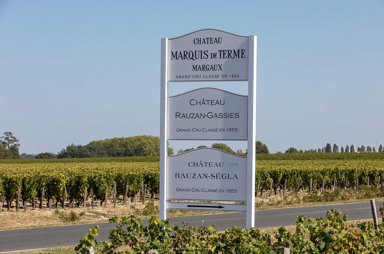 Anson: Château Marquis de Terme is an estate on the rise