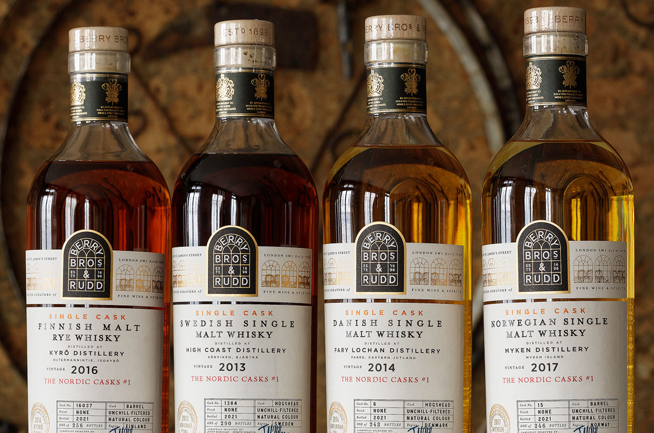 Berry Bros & Rudd launches Nordic whisky collection