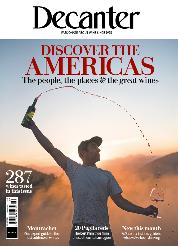 Decanter magazine latest issue: October 2021