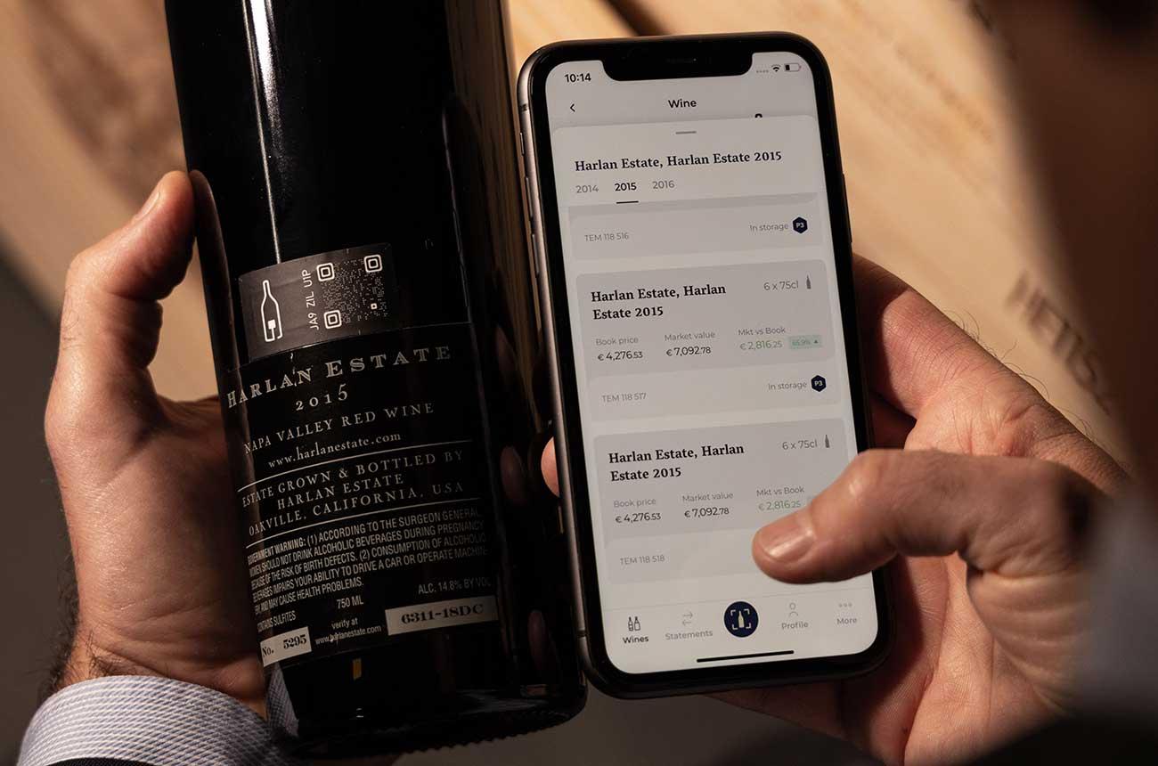 New app '1275' helps fine wine collectors track bottles