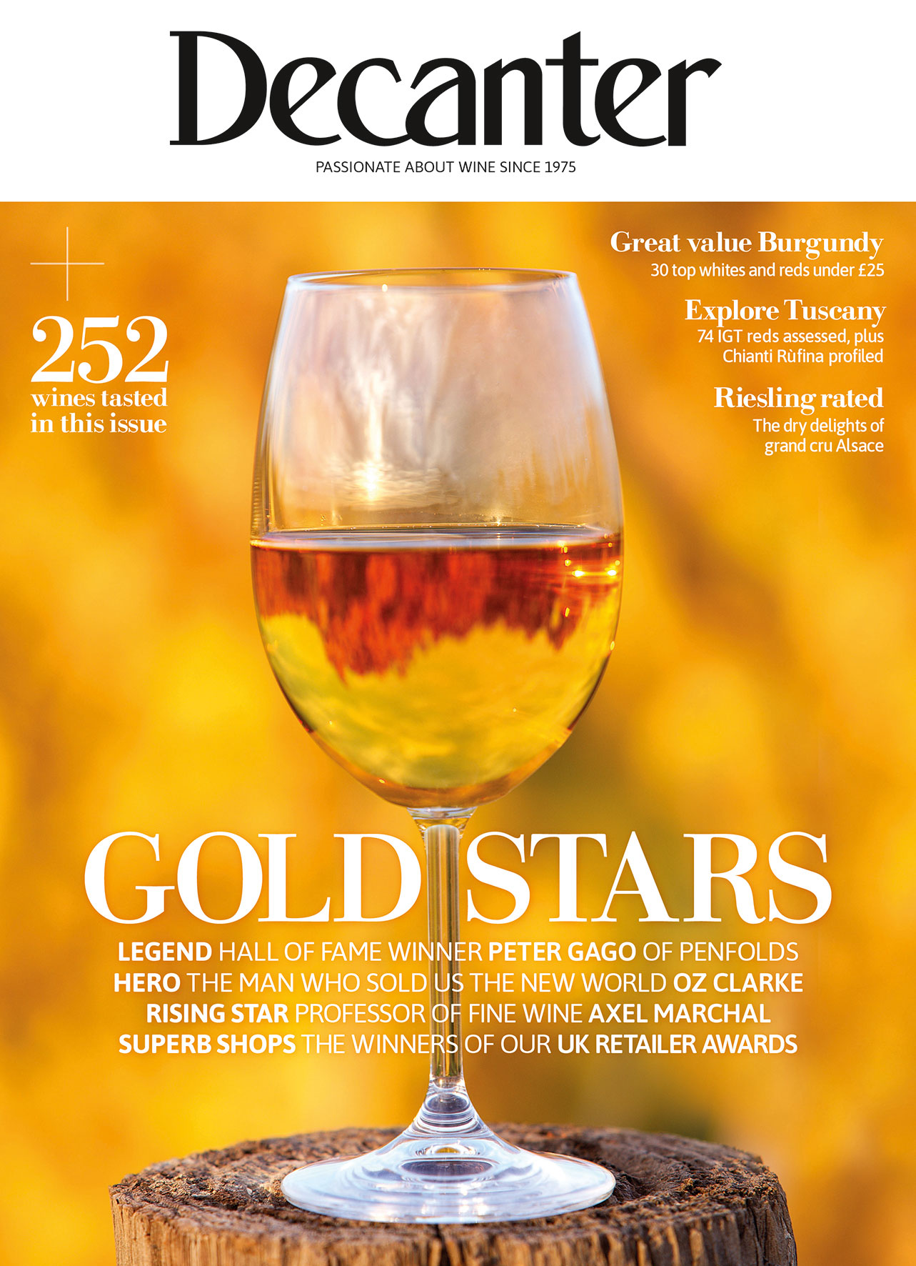Decanter magazine latest issue out now: November 2021