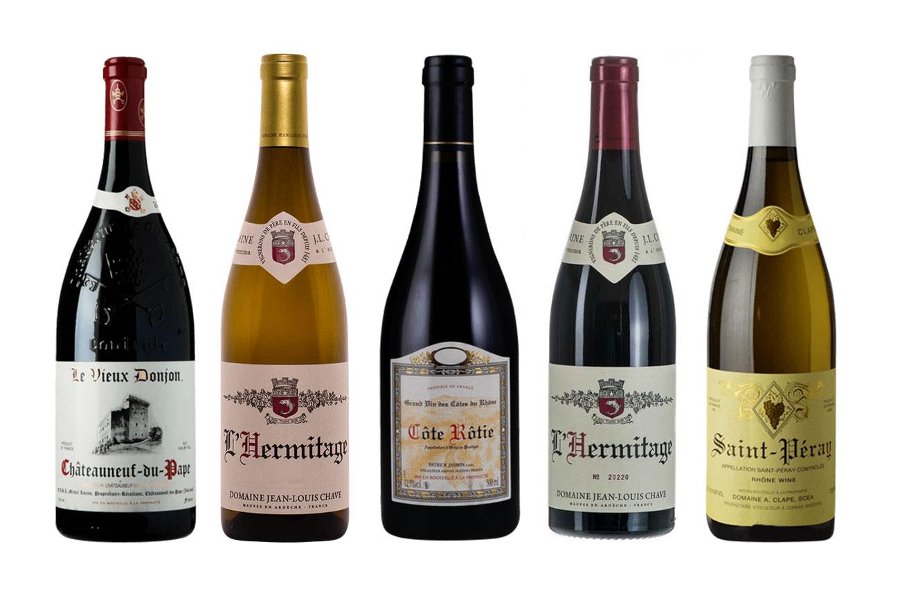 Walls: top picks from Yapp's Big Rhône Tasting